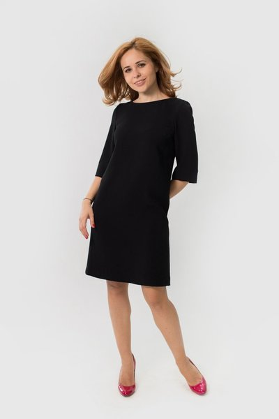 Rochie neagra meeting ace